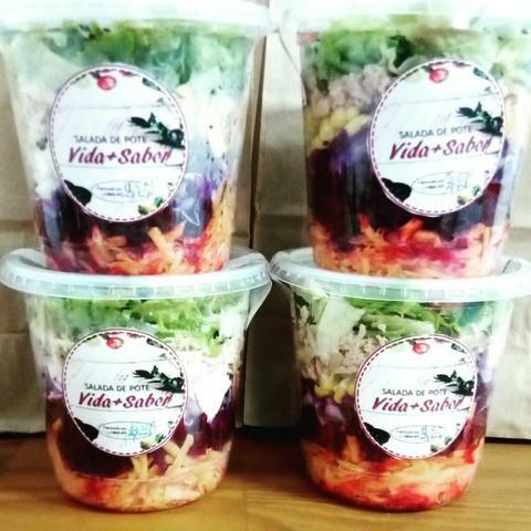 Vida+Sabor Salada de Pote - Foto 2