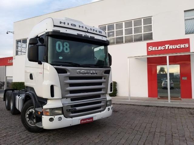 Scania Higlaine R420 6x4 S/reduçao - Selectrucks - Foto 2