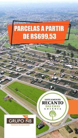 R$3.860,00 Entrada 1+3 - Excelente Loteamento Recanto das Emas