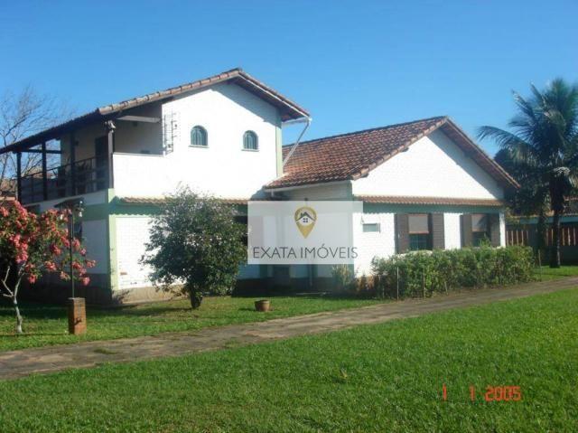 Casa terreno inteiro, linear 3 quartos, Extensão do Bosque/ Rio das Ostras!