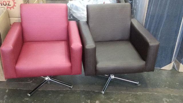 Poltrona recepção !!! Fábrica de móveis pra salão de beleza !!!! - Foto 5