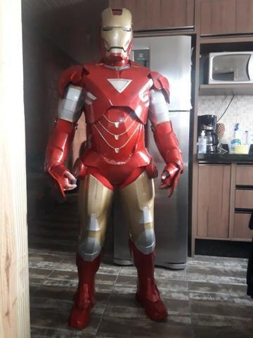 Armadura Cosplay Fantasia Homem de Ferro - Foto 2