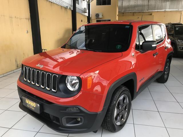 Jeep Renegade Sport flex câmbio manual!