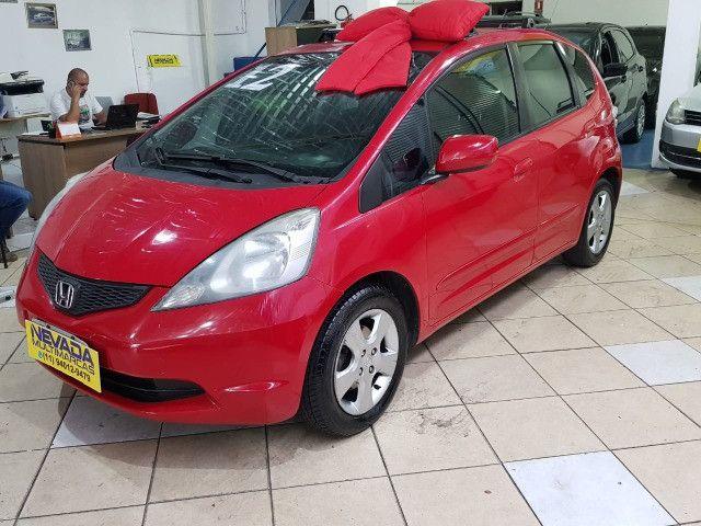 Honda Fit 2012 1.4 Flex LX Vermelho Estudo Troca e Financio - Foto 3