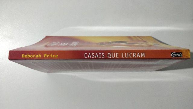 Livro Casais Que Lucram Deborah Price Gente Editora - Foto 4