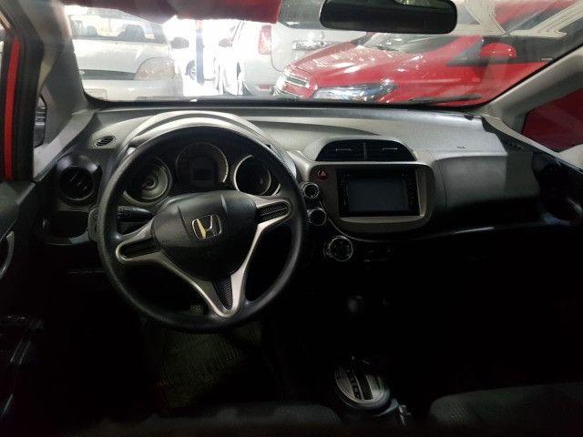 Honda Fit 2012 1.4 Flex LX Vermelho Estudo Troca e Financio - Foto 10