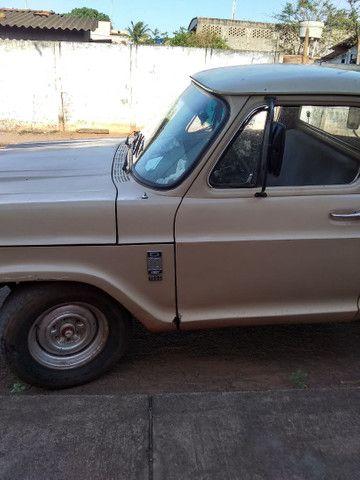 Vendo ou troco caminhonete d10 por uma strada - Foto 2