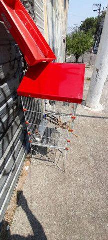 Viveiro grande para aves em aço inox - Foto 4