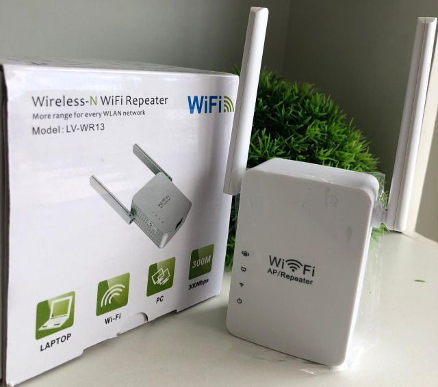 Repetidor Wifi 2 Antenas-(Loja Wiki no Anjo da Guarda e Cohab)