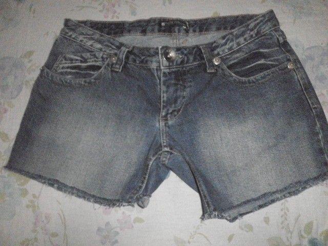 Short Jeans pré lavado - 42 - Foto 6