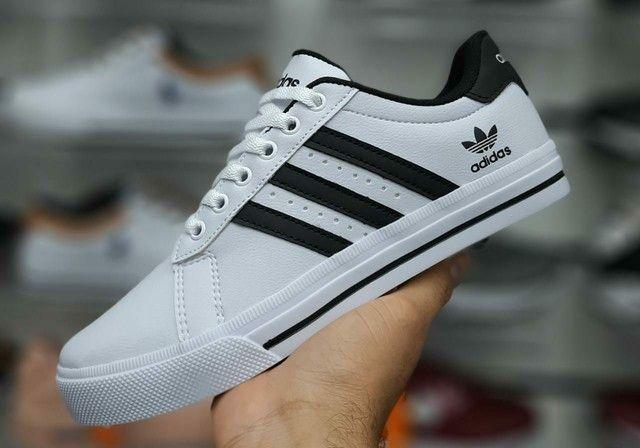 Vendo sapatênis Adidas e tênis Adidas alpha ( 120 com entrega) - Foto 2