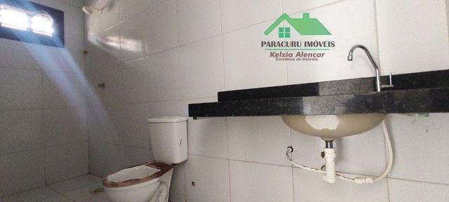 Ampla casa nova com dois quartos pertinho da rádio mar azul em Paracuru - Foto 9