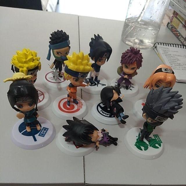6 pçs/Conjunto Figuras de Ação Versão Q Naruto - Foto 3