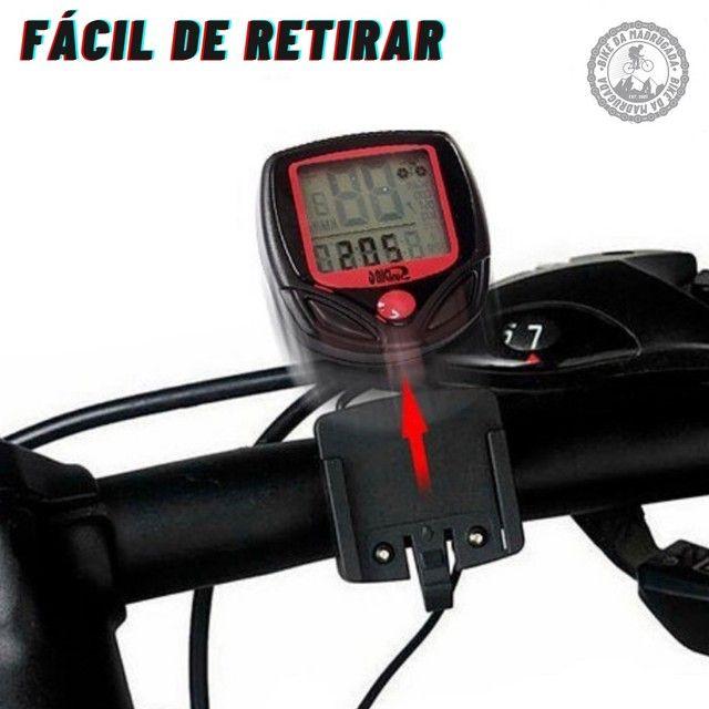 Promoção Ciclo computador velocímetro digital bicicleta bike prova d'água - Foto 2