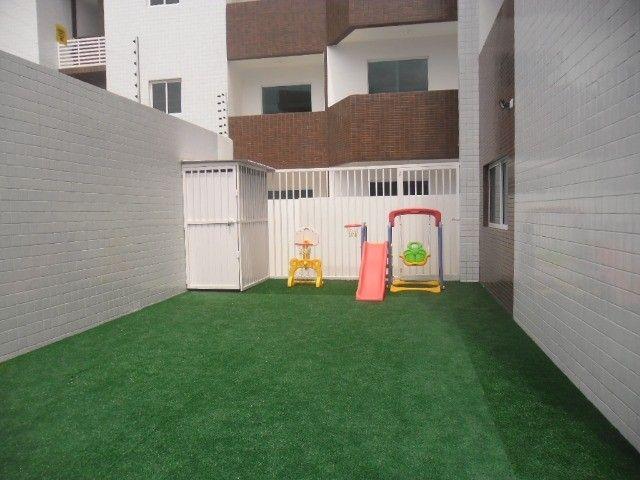 Apto c/ 03 quartos c/ elevador e área de lazer próximo à Unipê - Foto 17