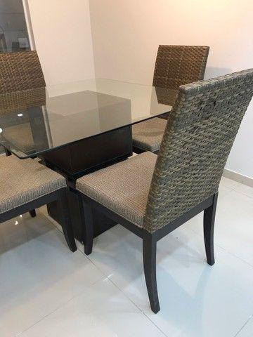 Conjunto de mesa e cadeiras  - Foto 4