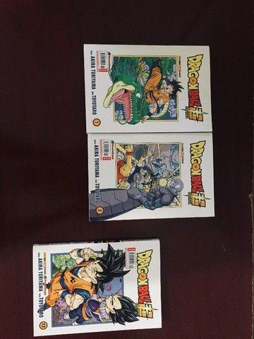 Mangá Dragon Ball Super - Vol. 1, 2 e 12 - Foto 4
