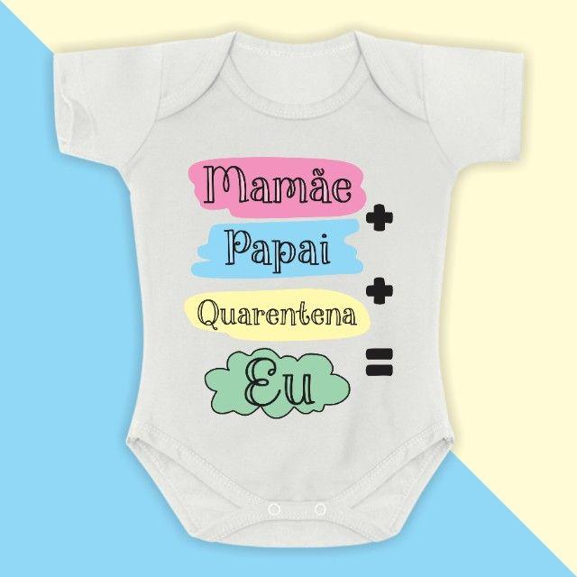 Body de Bebê Personalizado - Foto 2