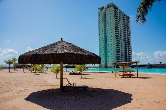 Venda- Brasil Beach, 88m², andar alto sol da manhã, com planejados -Cuiabá-MT - Foto 3