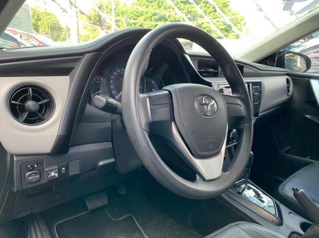 Toyota Corolla 2019 automático 1.8 Flex 16v GLI - Foto 7