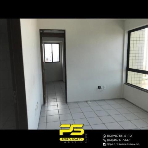 Apartamento com 2 dormitórios para alugar, 56 m² por R$ 1.700/mês - Tambaú - João Pessoa/P - Foto 4