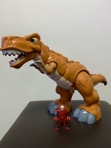 Dinossauro Fisher Price Imaginext T-rex - Foto 2