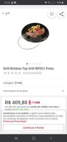 TORRO Britânia Top Grill 100 reais - Foto 2