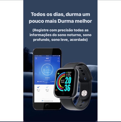 SmartWatch Prata D20 Android / iOS - Foto 3