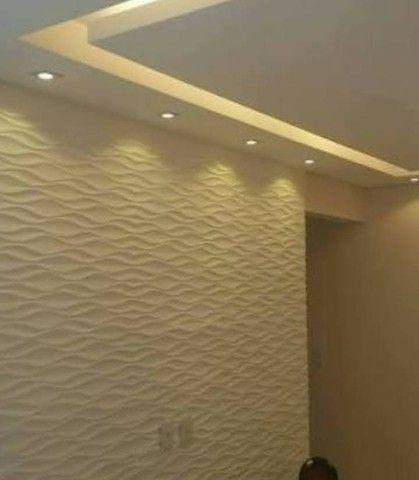 Rebaixamento e nicho em Drywall  - Foto 5