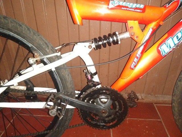 Bicicleta 24 marchas 2 amortecedores - Foto 2