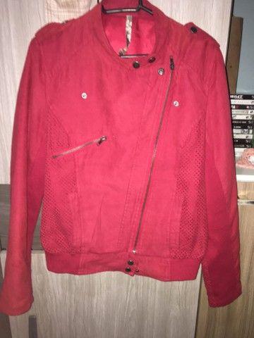 Jaqueta Importado Vermelha  - Foto 6