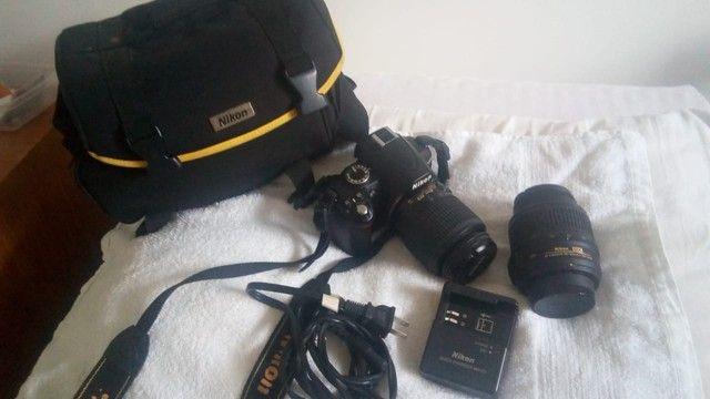 Máquina Fotográfica Nikon D3000 - Foto 3