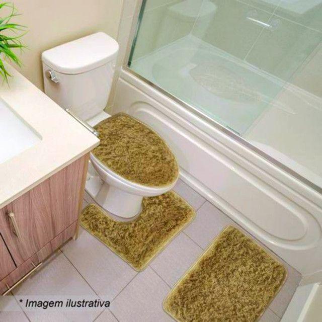 Jogo para Banheiro Super Macio Spazio