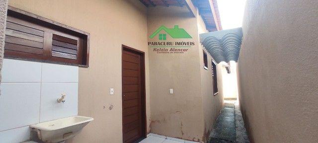 Ampla casa nova com dois quartos pertinho da rádio mar azul em Paracuru - Foto 13