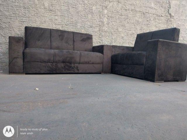 Jogo de sofá 2e3 lugar novo ? - Foto 2