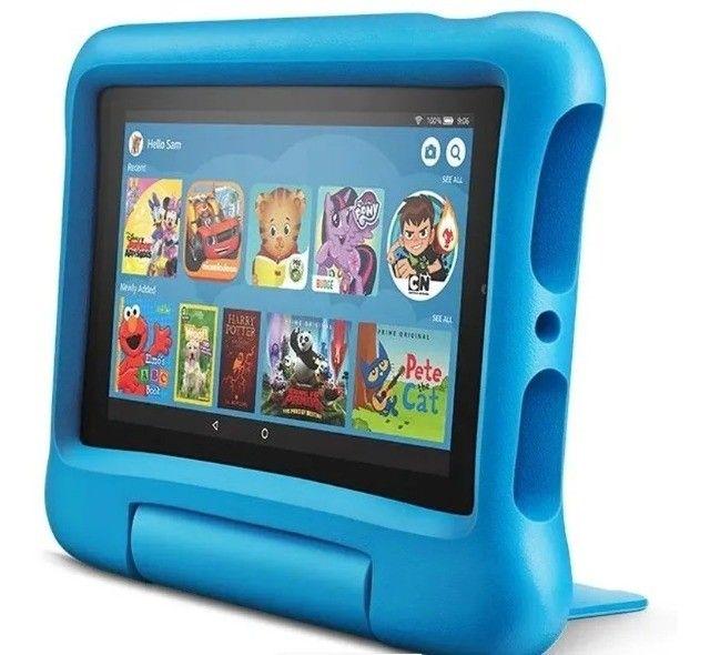 Tablet Infantil Amazon Fire 7 Kids - 16GB - Rosa ou Azul - Foto 3