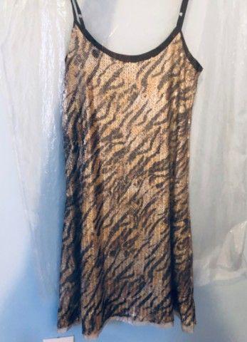Vestido paetê - Lei Básica - Foto 3