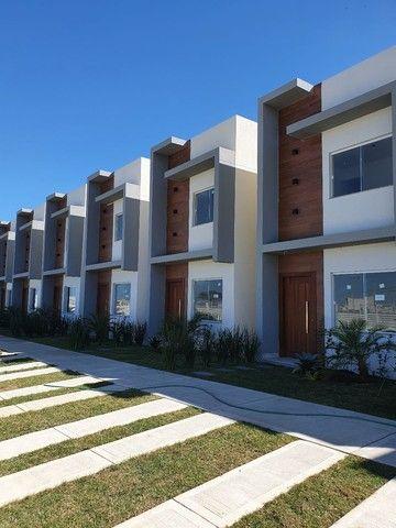 Casas com 3 qts sendo um suíte em condomínio fechado!!! - Foto 3