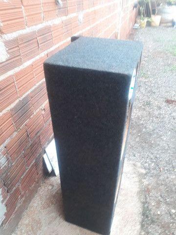 Caixa com 1.20mt por 40 de altura alto falante de 12  - Foto 2