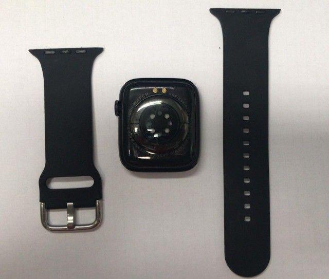 """smartwatch iwo dt100 Tela hd ips 1.75"""" preto  - Foto 2"""