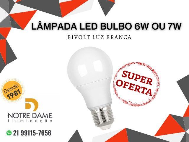 Lâmpada led Bulbo 6w ou 7w Super Promoção !!!