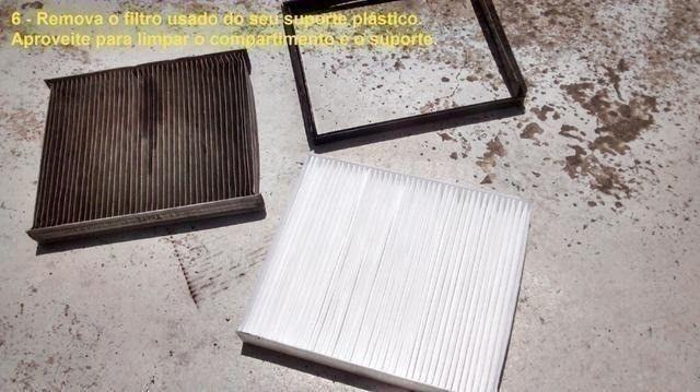 Filtro Cabine Ar-Condicionado Mahindra 2.2 e 2.6 Suv, Mov, Scorpio, PikUp, Cd, Simples - Foto 3