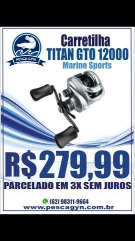 Carretilha Titan GTO 12000 Marine Sports