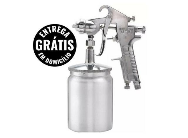 Pistola De pintura w-71s média pressão sucção 9dt - nova - entrega grátis