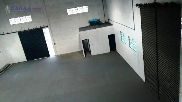 Galpão para alugar, 437 m² por r$ 9.400,00/mês - jardim pinheirinho - embu das artes/sp - Foto 3
