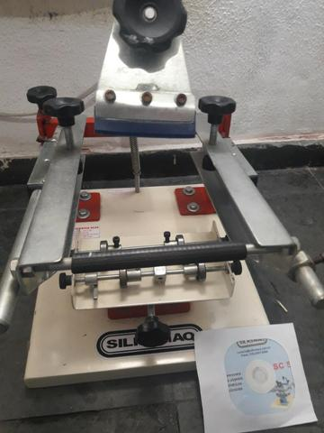 Maquina de silk de caneta - Foto 2