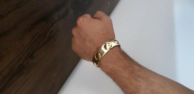 Nossa promoção!! continua!! bracelete de moeda antiga!! - Foto 2