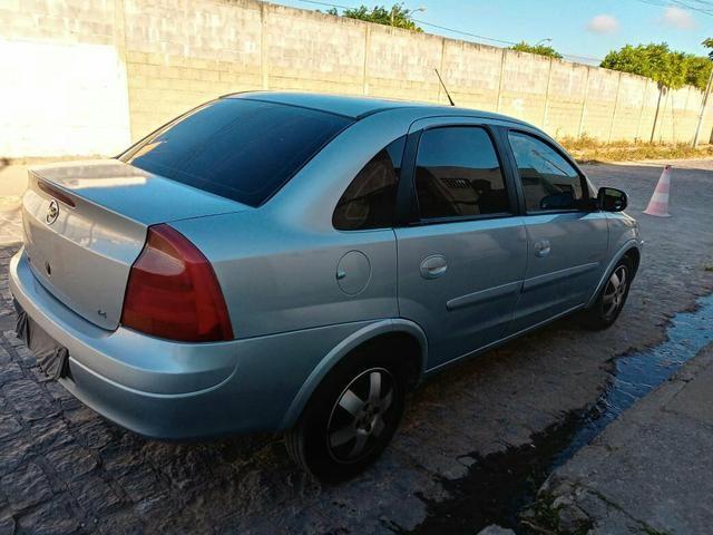 Vendo Corsa Sedã Premium 1.4 2010 completo de Tudo! - Foto 8