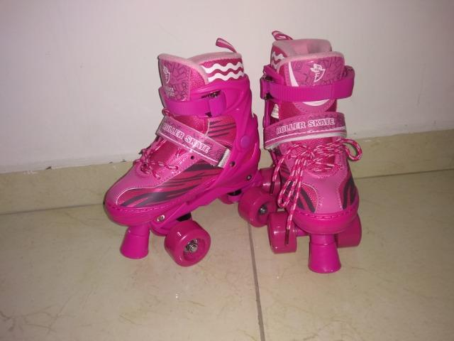 Skate Roller, patins ajustável