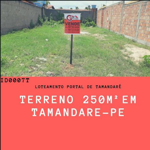 Vendo: Terreno com 250 m² em Tamandaré-PE